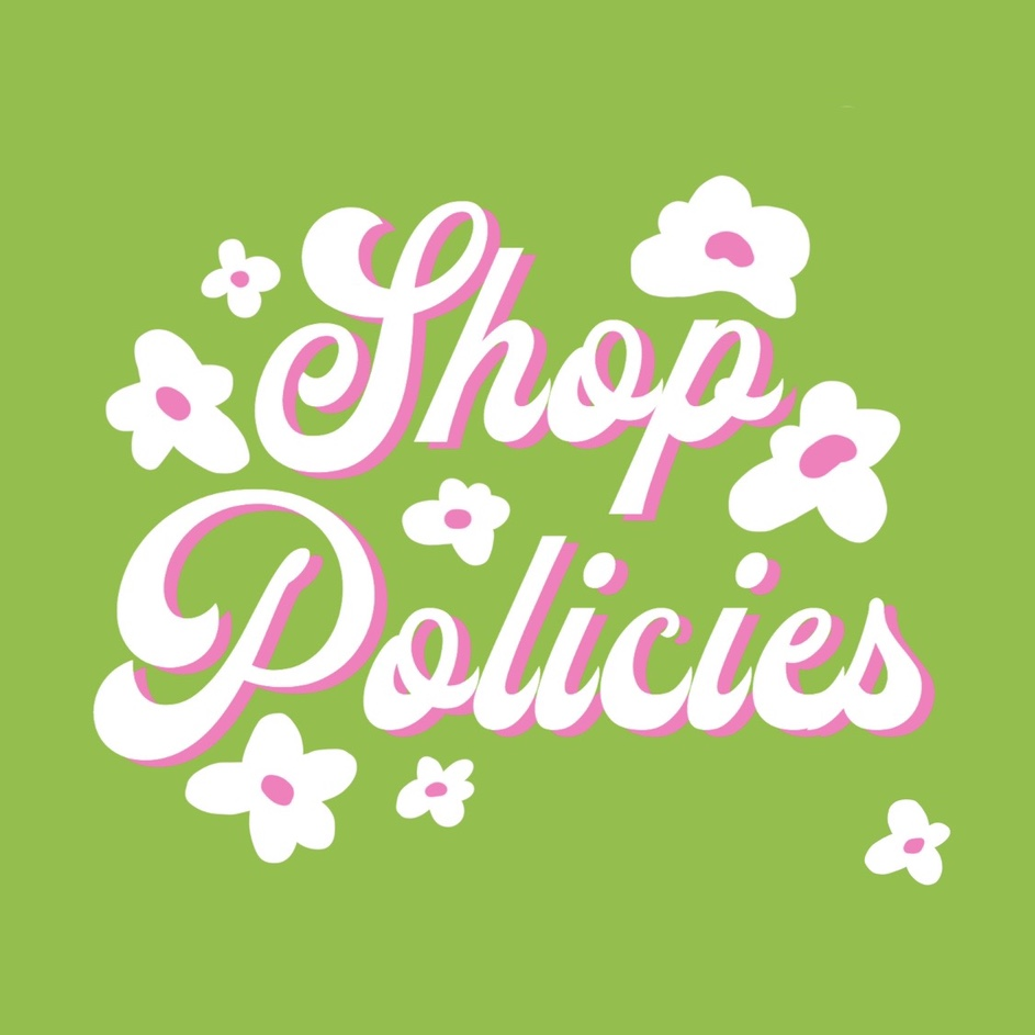 Post a special item to show shop policies
