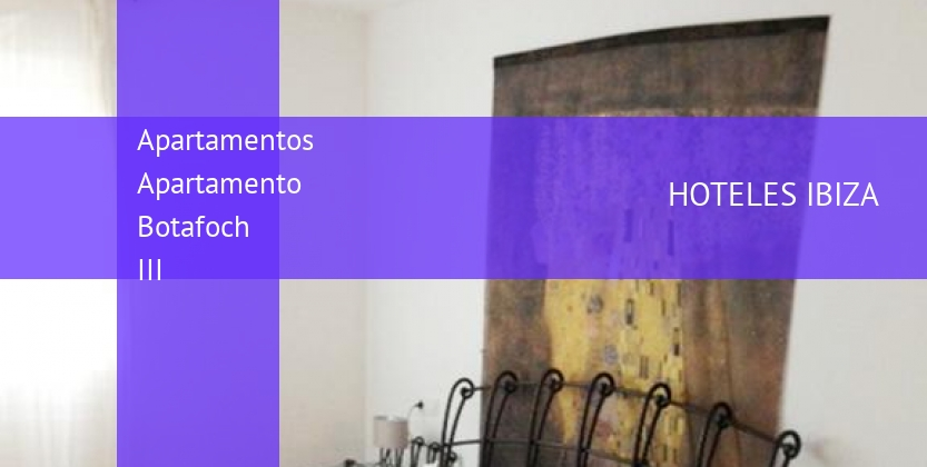 Apartamentos Apartamento Botafoch III booking