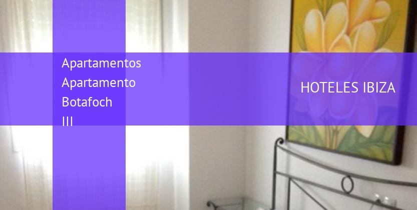 Apartamentos Apartamento Botafoch III reverva
