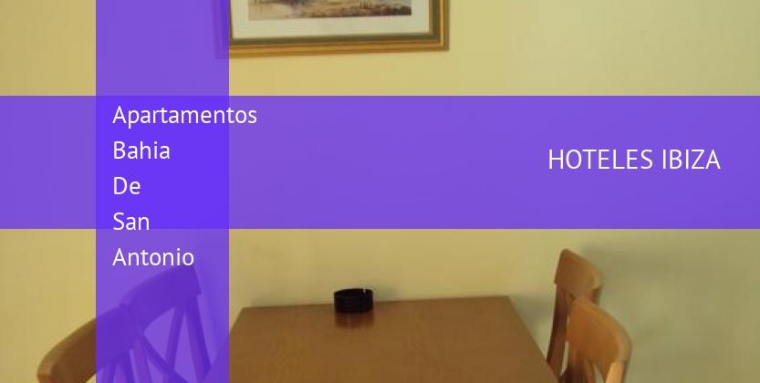 Apartamentos Bahia De San Antonio reservas