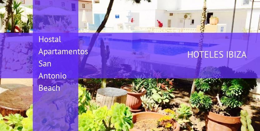 Hostal Apartamentos San Antonio Beach