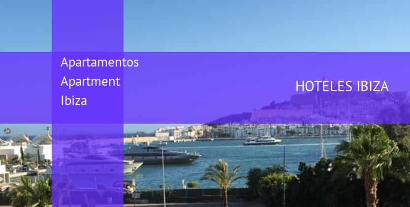 Apartamentos Apartment Ibiza booking