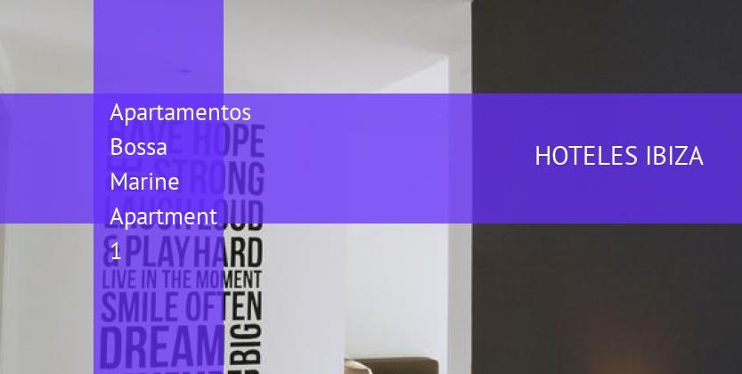 Apartamentos Bossa Marine Apartment 1 opiniones