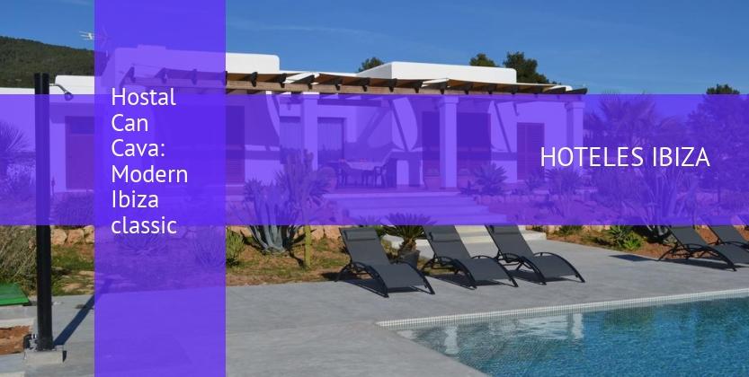 Hostal Can Cava: Modern Ibiza classic baratos