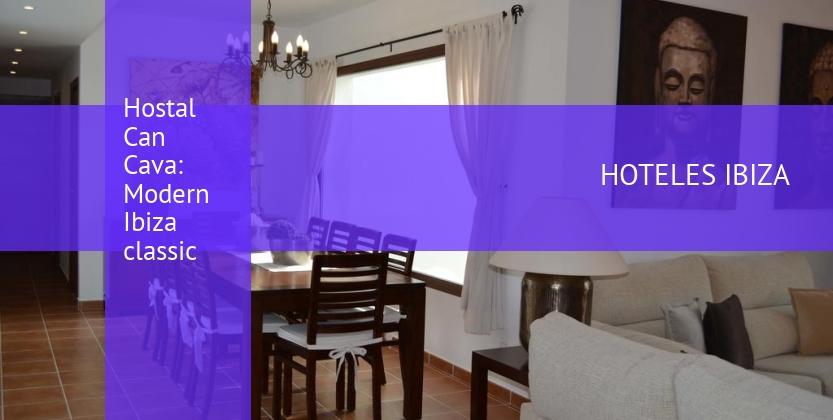 Hostal Can Cava: Modern Ibiza classic reservas