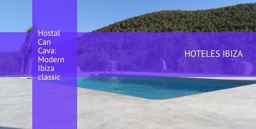 Hostal Can Cava: Modern Ibiza classic