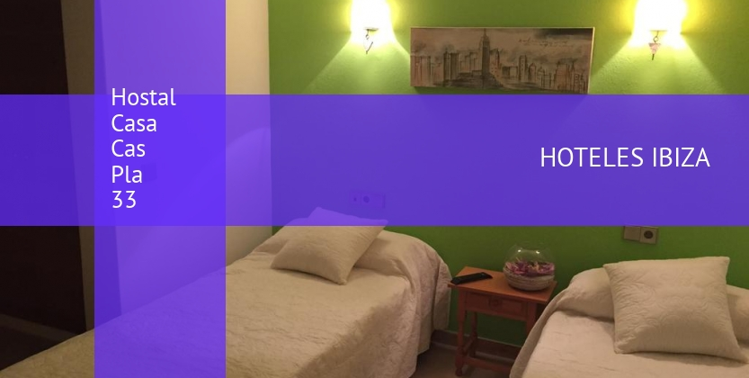 Hostal Casa Cas Pla 33 barato