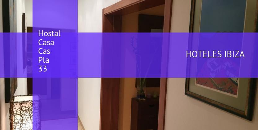 Hostal Casa Cas Pla 33 reservas