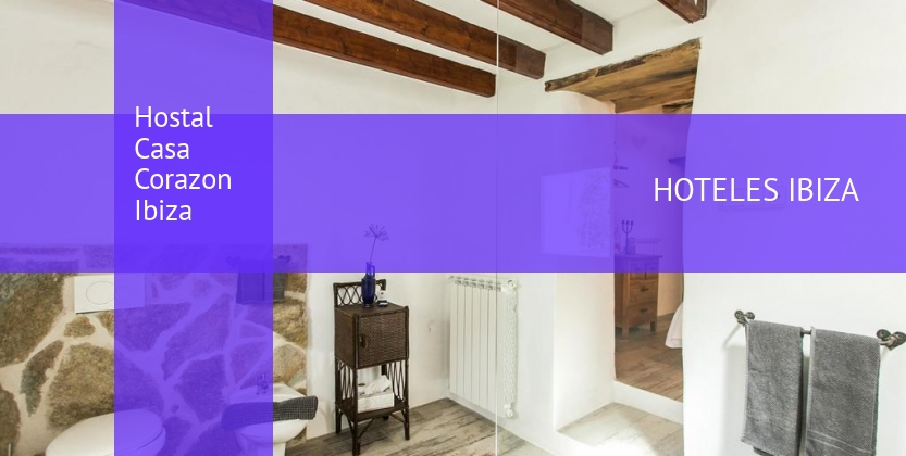 Hostal Casa Corazon Ibiza barato