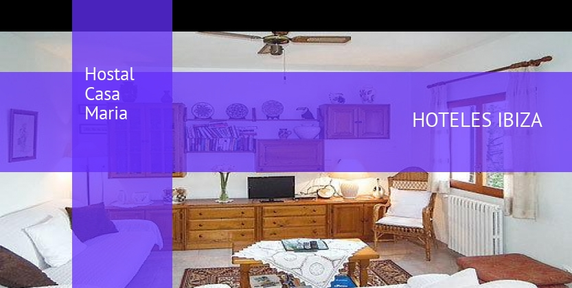Hostal Casa Maria booking