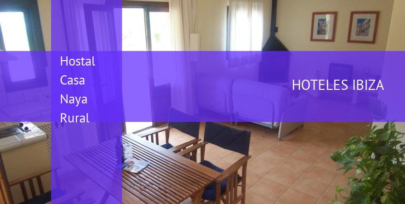 Hostal Casa Naya Rural reservas