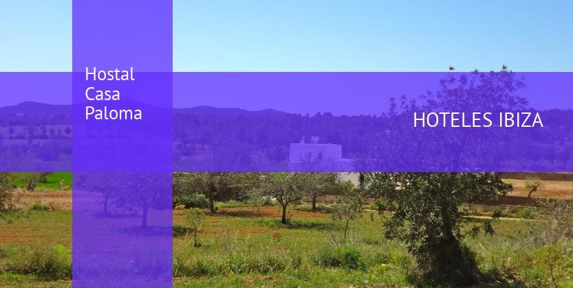 Hostal Casa Paloma reservas