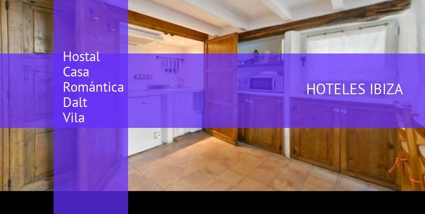 Hostal Casa Romántica Dalt Vila reservas