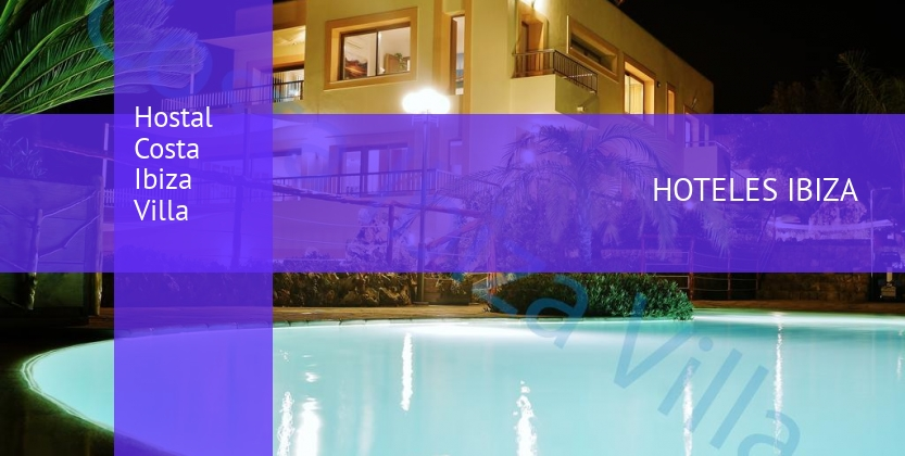 Hostal Costa Ibiza Villa reservas