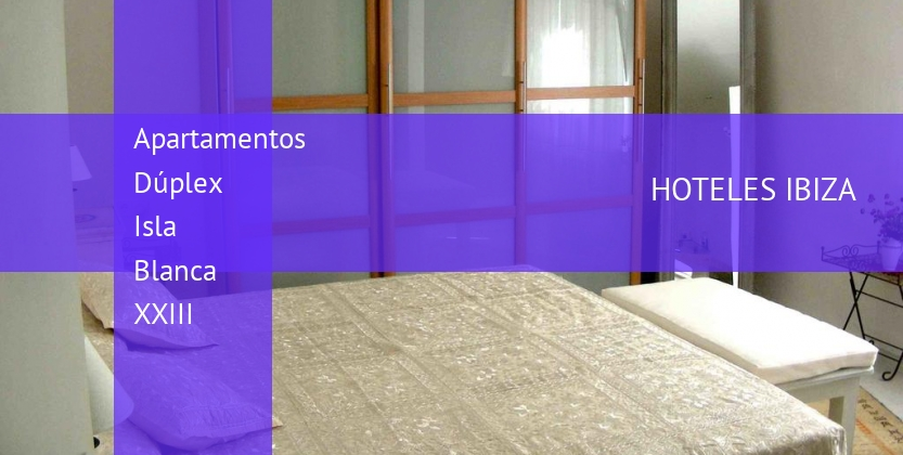 Apartamentos Dúplex Isla Blanca XXIII booking
