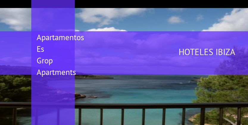Apartamentos Es Grop Apartments booking