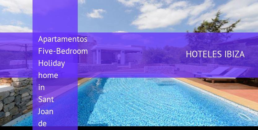 Apartamentos Five-Bedroom Holiday home in Sant Joan de Labritja / San Juan barato