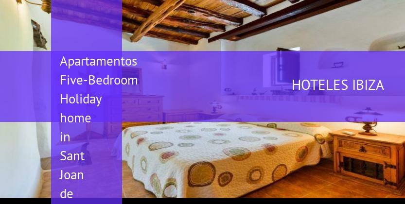 Apartamentos Five-Bedroom Holiday home in Sant Joan de Labritja / San Juan baratos