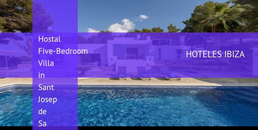 Hostal Five-Bedroom Villa in Sant Josep de Sa Talaia / San Jose opiniones