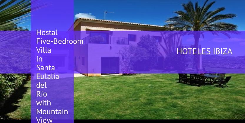 Hostal Five-Bedroom Villa in Santa Eulalia del Río with Mountain View booking