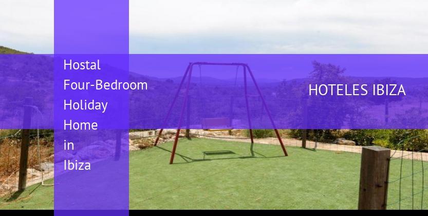 Hostal Four-Bedroom Holiday Home in Ibiza barato