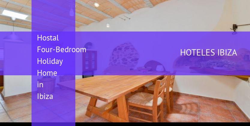 Hostal Four-Bedroom Holiday Home in Ibiza baratos