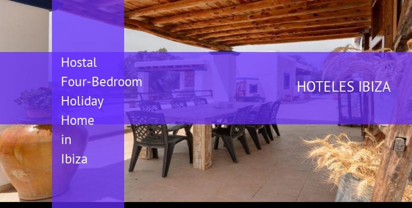 Hostal Four-Bedroom Holiday Home in Ibiza reverva