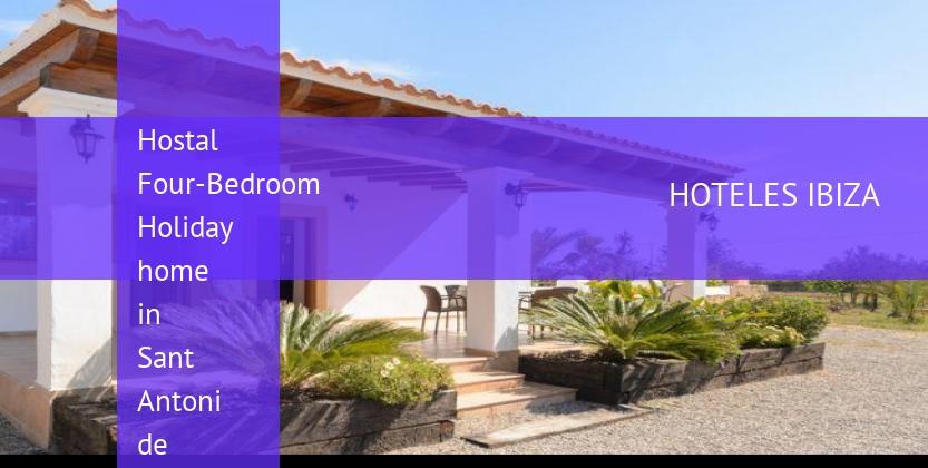 Hostal Four-Bedroom Holiday home in Sant Antoni de Portmany / San Antonio barato