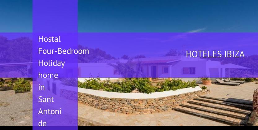 Hostal Four-Bedroom Holiday home in Sant Antoni de Portmany / San Antonio baratos