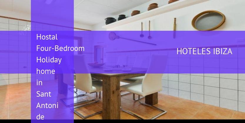 Hostal Four-Bedroom Holiday home in Sant Antoni de Portmany / San Antonio booking