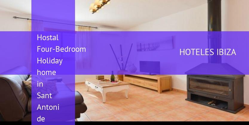 Hostal Four-Bedroom Holiday home in Sant Antoni de Portmany / San Antonio opiniones