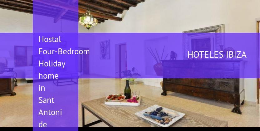 Hostal Four-Bedroom Holiday home in Sant Antoni de Portmany / San Antonio reservas