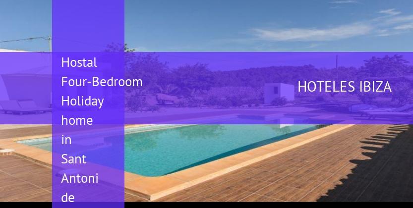 Hostal Four-Bedroom Holiday home in Sant Antoni de Portmany / San Antonio reverva
