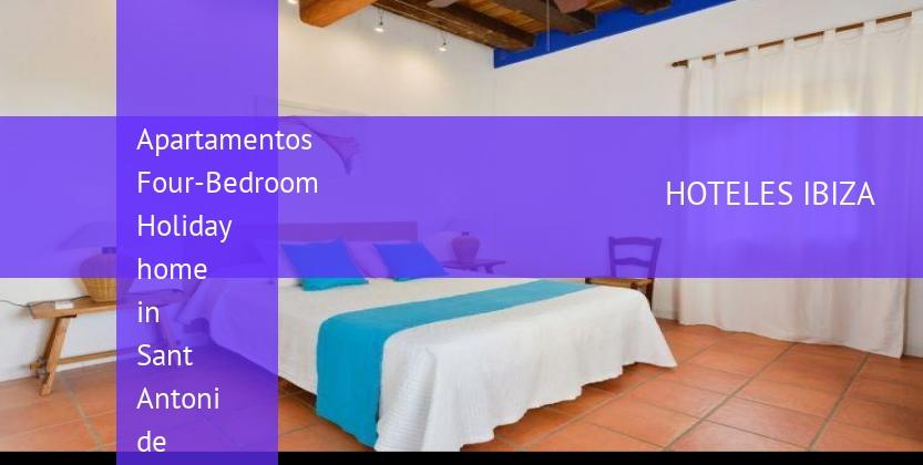 Apartamentos Four-Bedroom Holiday home in Sant Antoni de Portmany barato