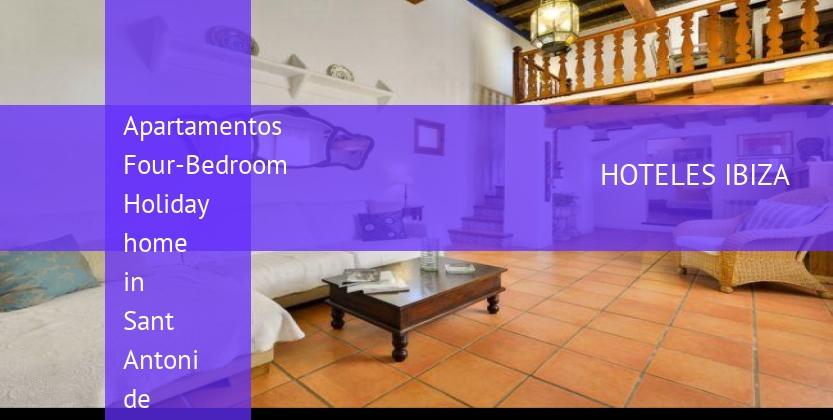 Apartamentos Four-Bedroom Holiday home in Sant Antoni de Portmany baratos