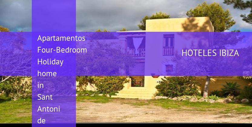 Apartamentos Four-Bedroom Holiday home in Sant Antoni de Portmany booking