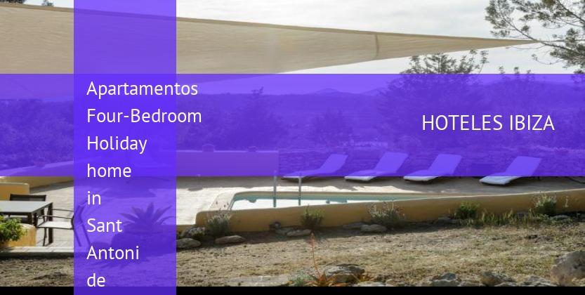 Apartamentos Four-Bedroom Holiday home in Sant Antoni de Portmany opiniones