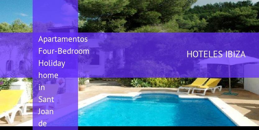 Apartamentos Four-Bedroom Holiday home in Sant Joan de Labritja opiniones