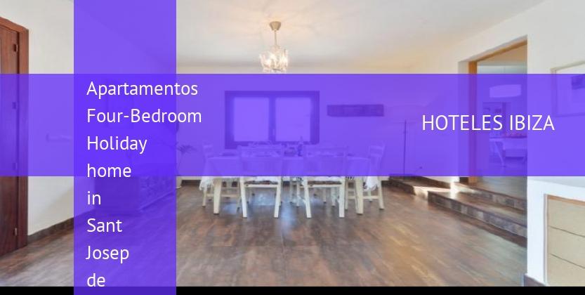 Apartamentos Four-Bedroom Holiday home in Sant Josep de Sa Talaia / San Jose with Terrace opiniones