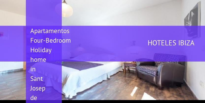 Apartamentos Four-Bedroom Holiday home in Sant Josep de Sa Talaia / San Jose with Terrace reservas