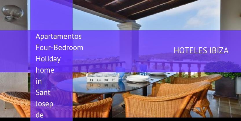 Apartamentos Four-Bedroom Holiday home in Sant Josep de Sa Talaia / San Jose