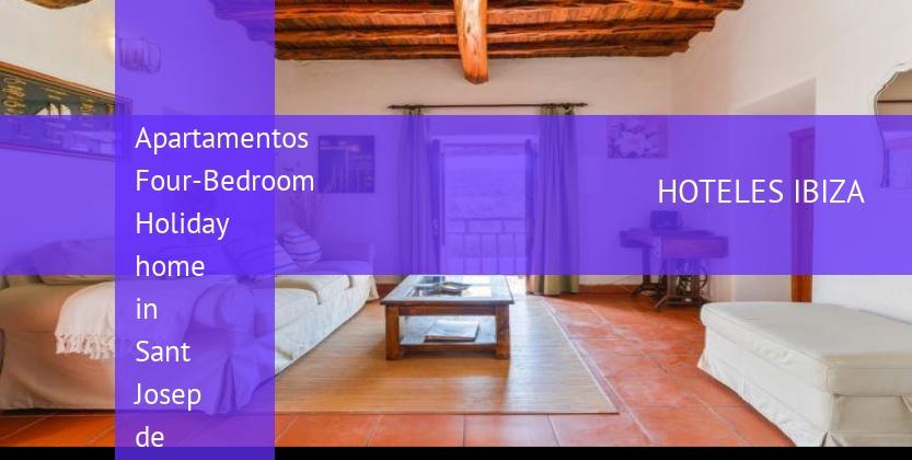 Apartamentos Four-Bedroom Holiday home in Sant Josep de Sa Talaia with Pool