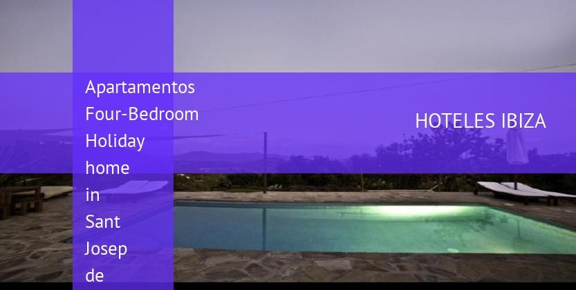 Apartamentos Four-Bedroom Holiday home in Sant Josep de Sa Talaia barato