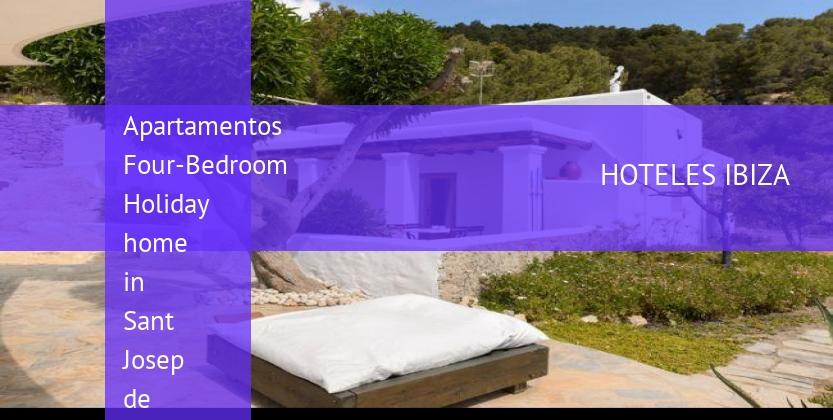 Apartamentos Four-Bedroom Holiday home in Sant Josep de Sa Talaia baratos