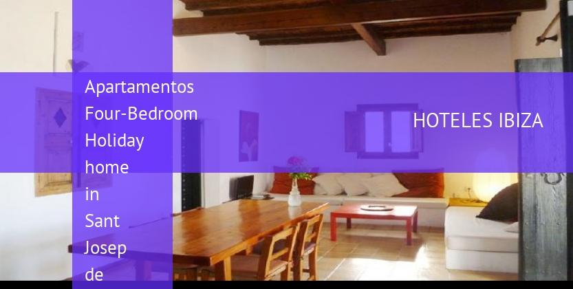 Apartamentos Four-Bedroom Holiday home in Sant Josep de Sa Talaia opiniones