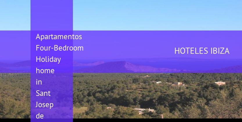 Apartamentos Four-Bedroom Holiday home in Sant Josep de Sa Talaia reverva