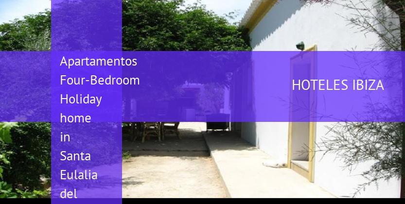 Apartamentos Four-Bedroom Holiday home in Santa Eulalia del Río with Garden barato