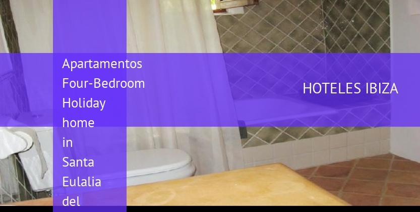Apartamentos Four-Bedroom Holiday home in Santa Eulalia del Río with Garden baratos