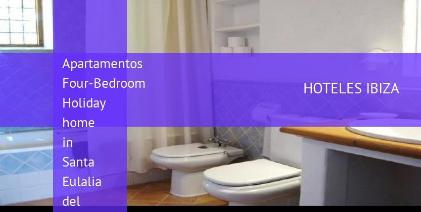 Apartamentos Four-Bedroom Holiday home in Santa Eulalia del Río with Garden booking