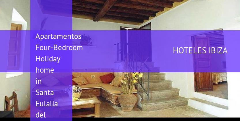 Apartamentos Four-Bedroom Holiday home in Santa Eulalia del Río with Garden reservas